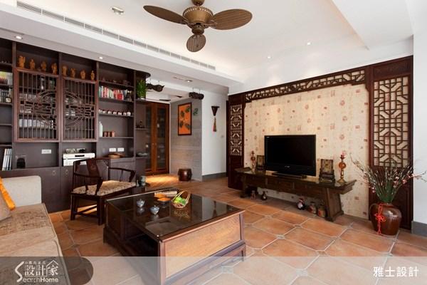 35坪中古屋(5~15年)_新中式風案例圖片_雅士室內設計_雅士_22之1