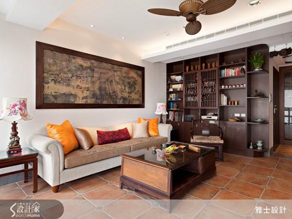 35坪中古屋(5~15年)_新中式風案例圖片_雅士室內設計_雅士_22之4