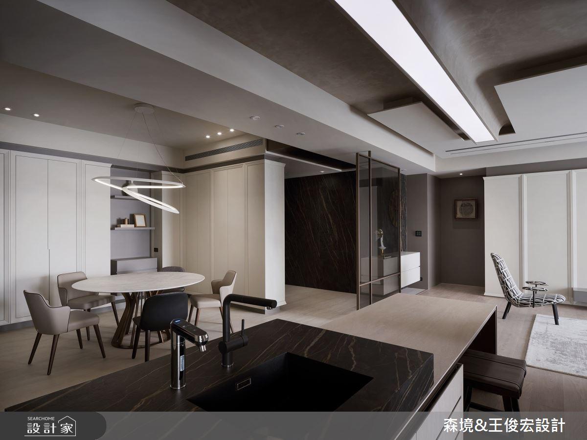48坪新成屋(5年以下)_現代風案例圖片_森境室內裝修設計工程有限公司/王俊宏建築設計諮詢(上海)有限公司_王俊宏_86之10