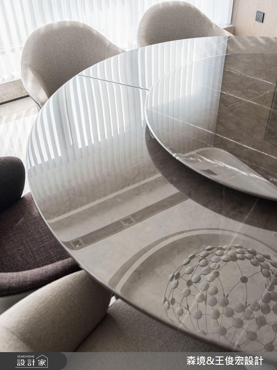 110坪新成屋(5年以下)_現代風案例圖片_森境室內裝修設計工程有限公司/王俊宏建築設計諮詢(上海)有限公司_王俊宏_87之8