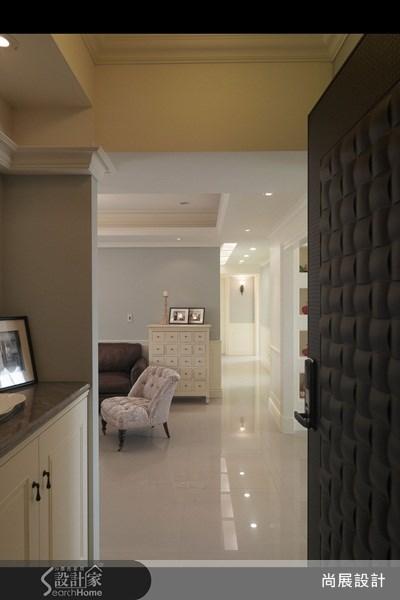40坪新成屋(5年以下)_美式風玄關客廳走廊案例圖片_尚展空間設計_尚展_27之23