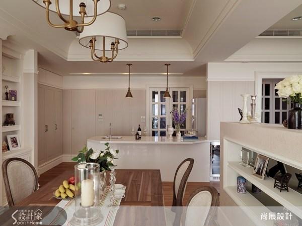 50坪新成屋(5年以下)_美式風餐廳吧檯案例圖片_尚展空間設計_尚展_43之4