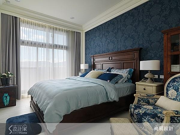 40坪新成屋(5年以下)_美式風臥室案例圖片_尚展空間設計_尚展_45之9