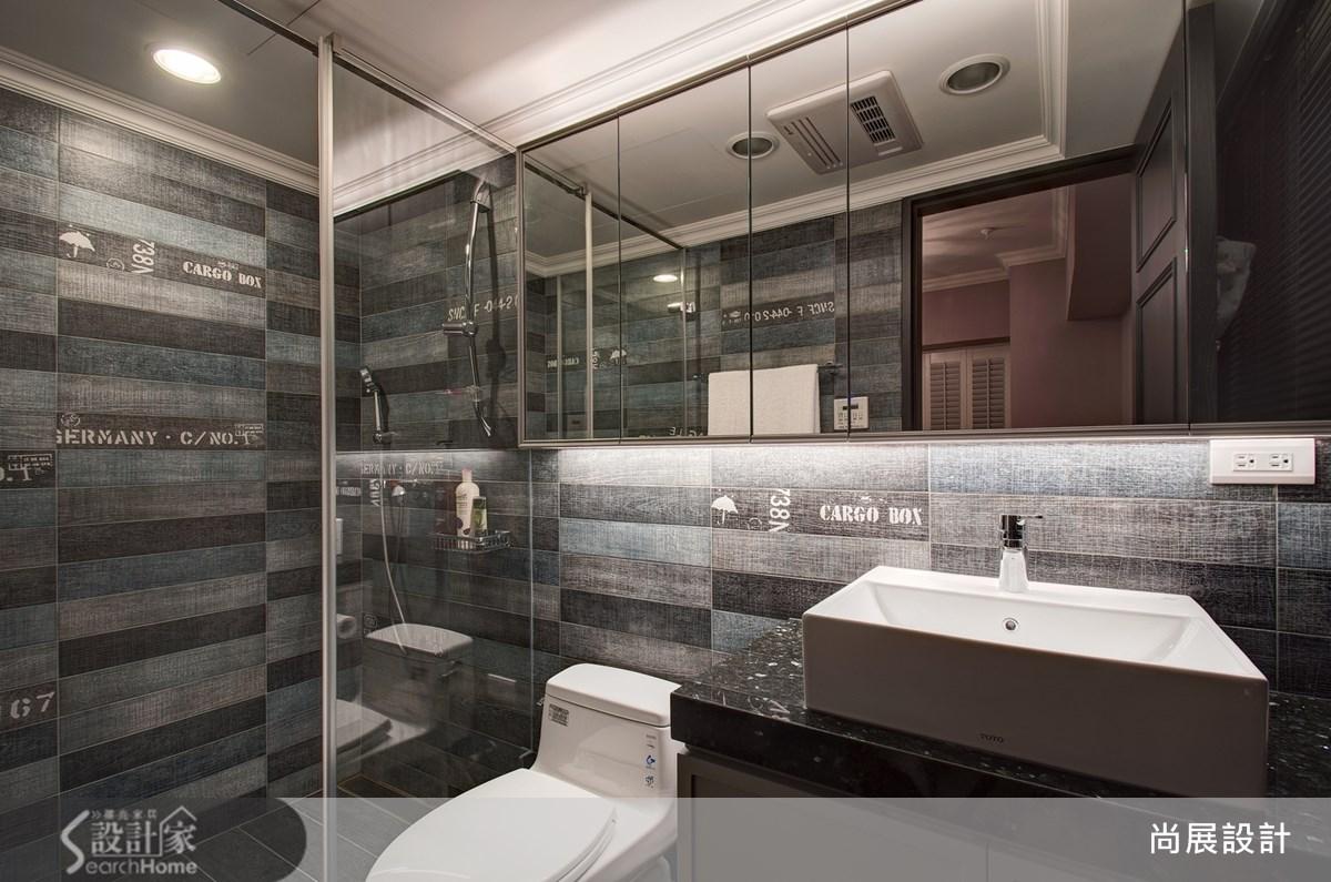 60坪中古屋(5~15年)_奢華風浴室案例圖片_尚展空間設計_尚展_48之9