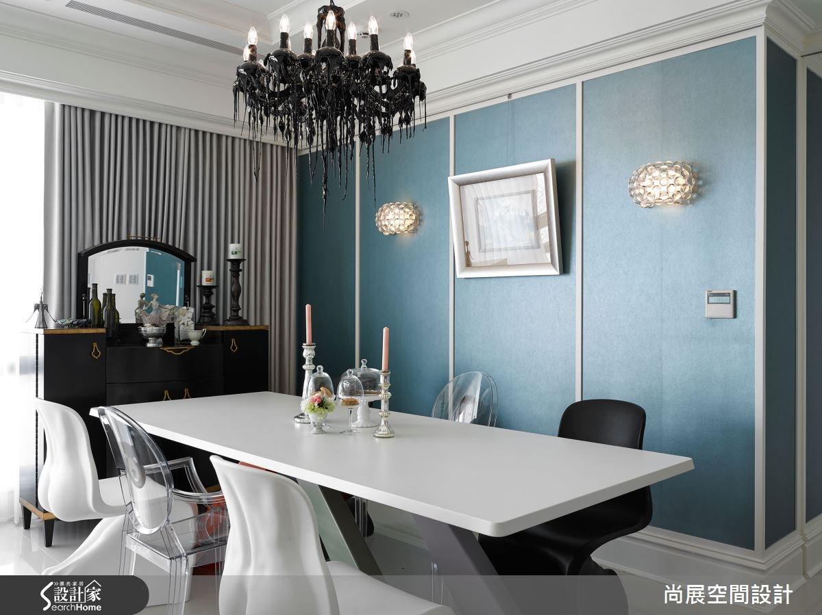 70坪新成屋(5年以下)_奢華風餐廳案例圖片_尚展空間設計_尚展_53之4