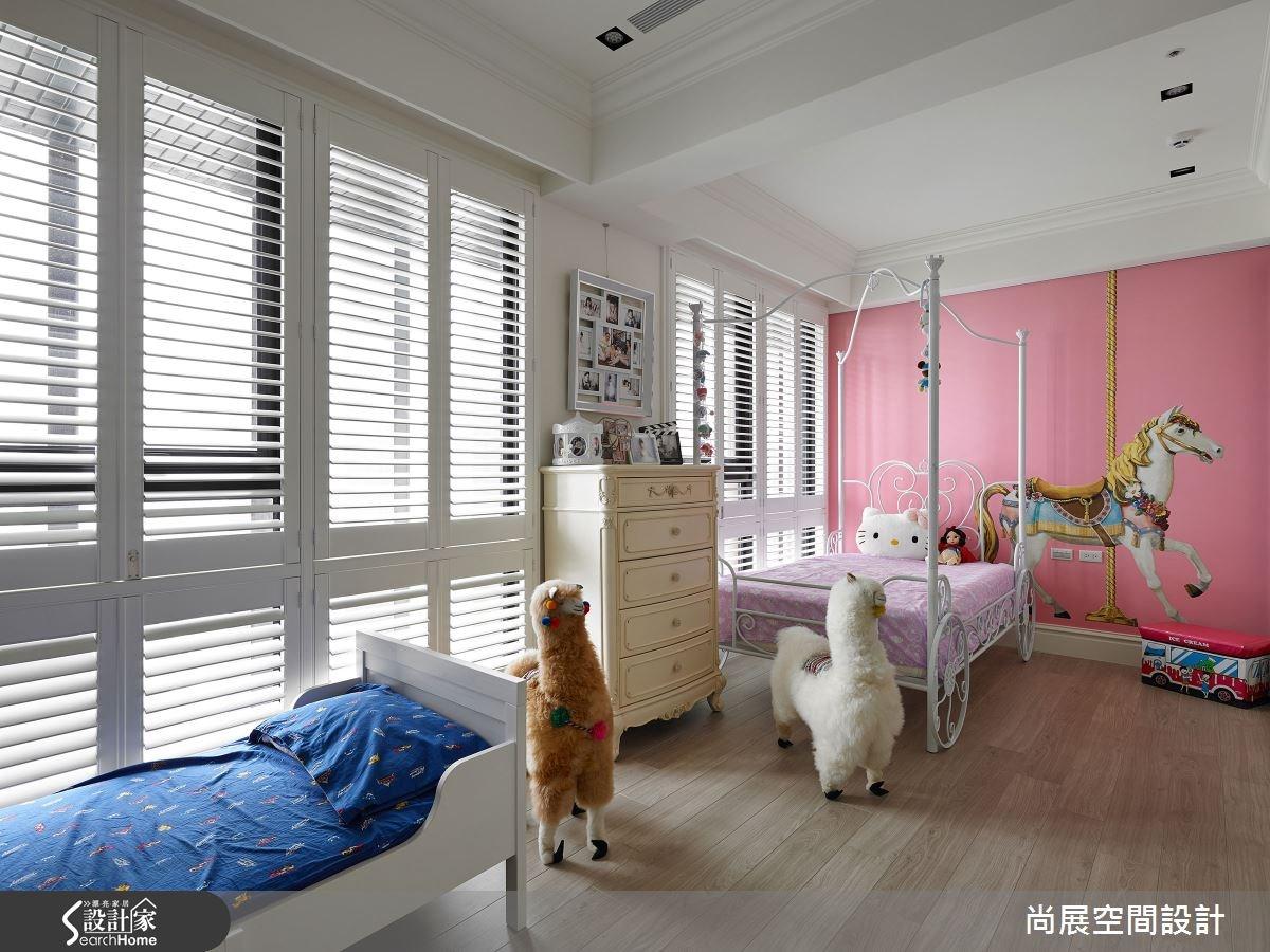 70坪新成屋(5年以下)_奢華風兒童房兒童房案例圖片_尚展空間設計_尚展_53之6