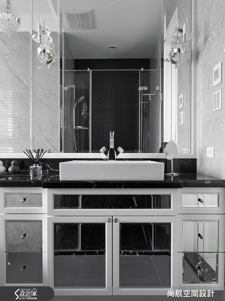 70坪新成屋(5年以下)_奢華風浴室案例圖片_尚展空間設計_尚展_53之10