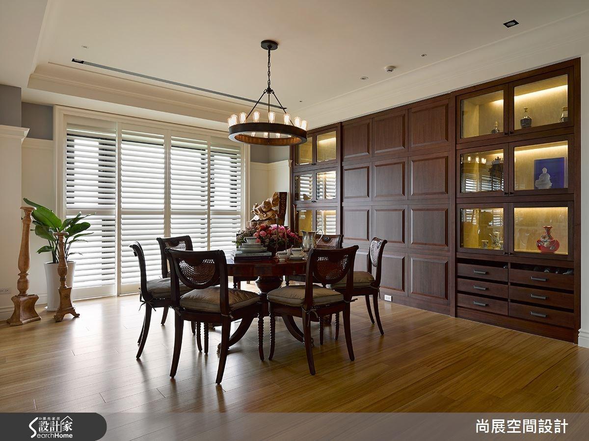 135坪新成屋(5年以下)_美式風餐廳案例圖片_尚展空間設計_尚展_54之4