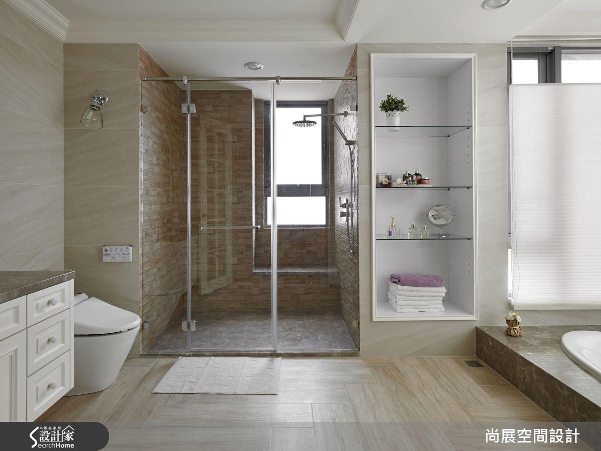 110坪新成屋(5年以下)_美式風浴室案例圖片_尚展空間設計_尚展_56之14