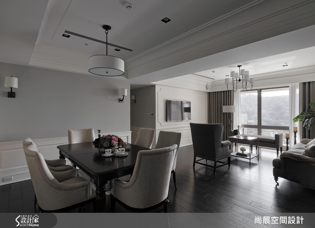 新成屋(5年以下)_美式風客廳餐廳臥榻案例圖片_尚展空間設計_尚展_57之1