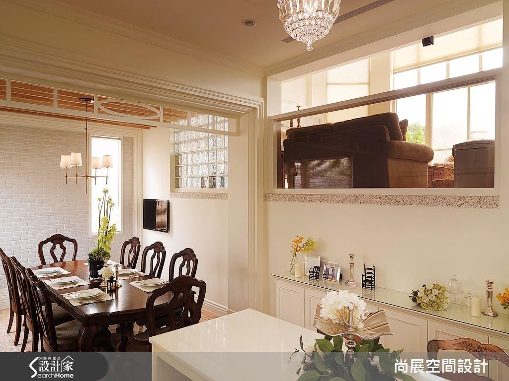 95坪中古屋(5~15年)_美式風餐廳案例圖片_尚展空間設計_尚展_60之4