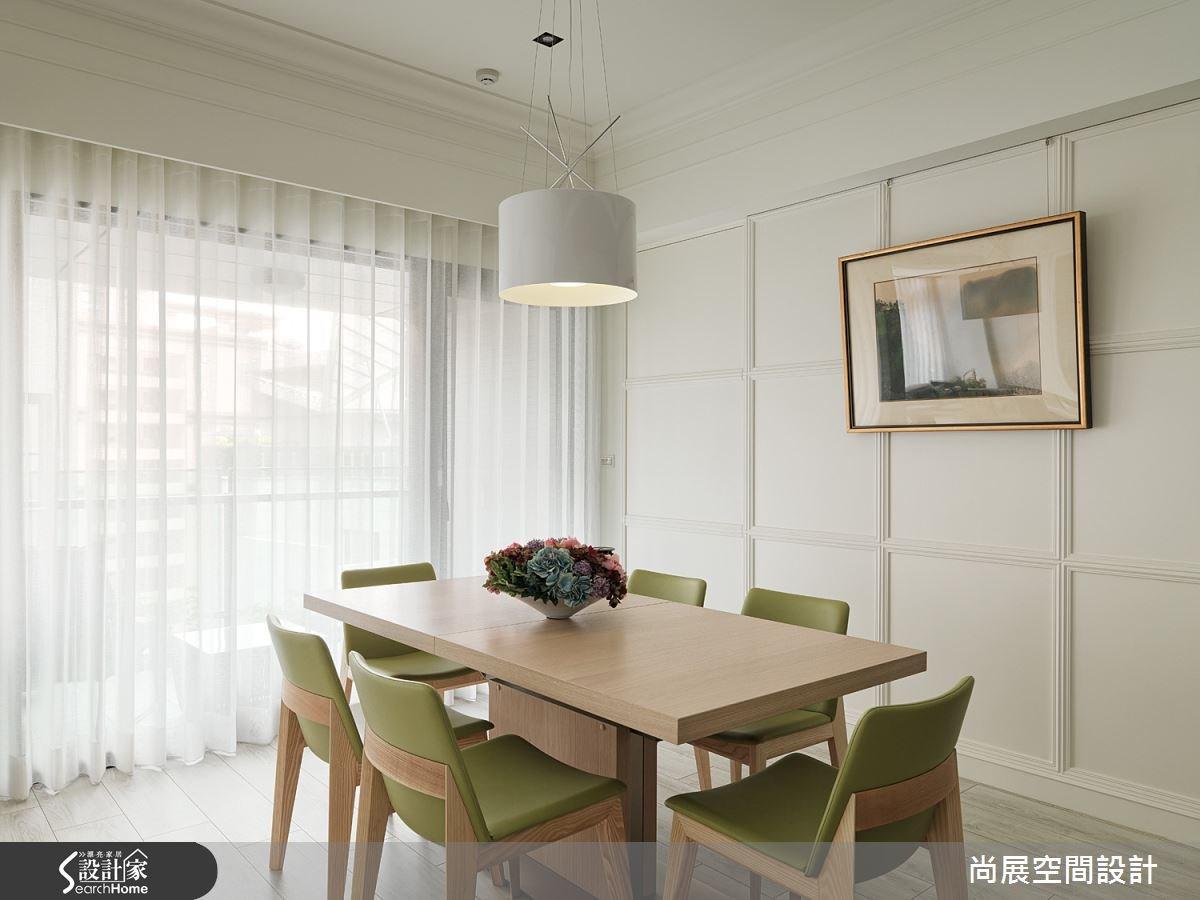 80坪新成屋(5年以下)_美式風餐廳案例圖片_尚展空間設計_尚展_62之8