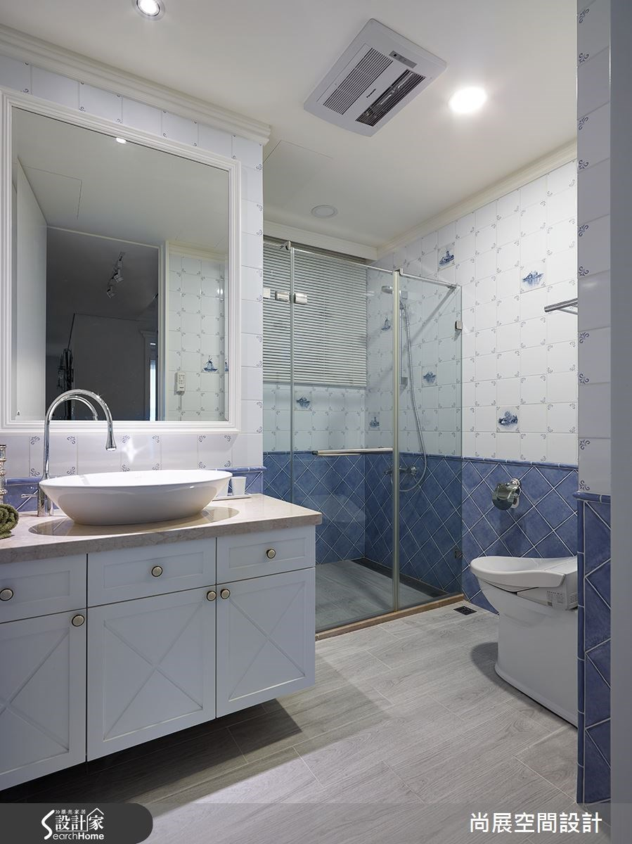 102坪新成屋(5年以下)_美式風浴室案例圖片_尚展空間設計_尚展_63之12