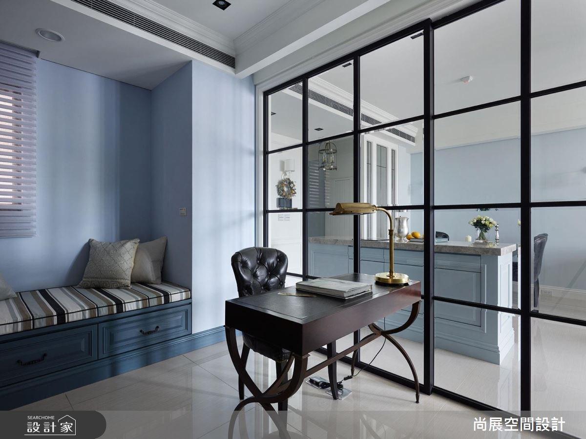 45坪新成屋(5年以下)_美式風書房案例圖片_尚展空間設計_尚展_73之6
