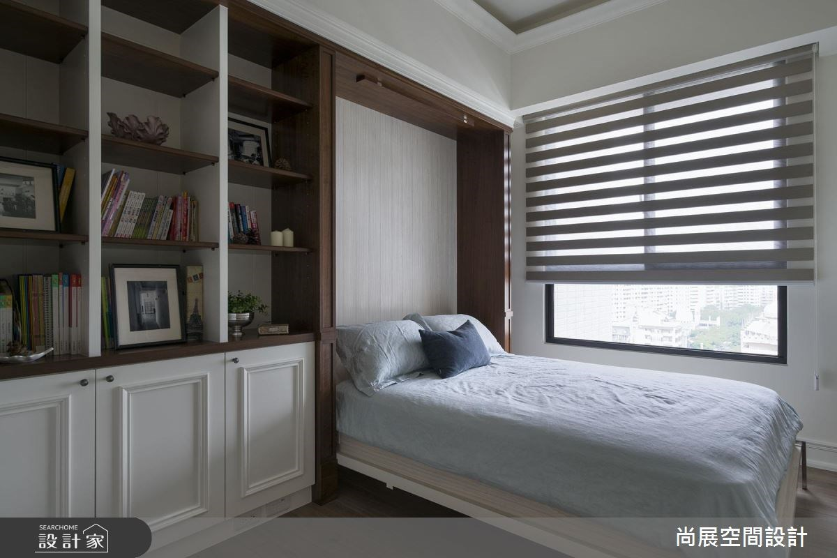 45坪新成屋(5年以下)_美式風臥室案例圖片_尚展空間設計_尚展_75之11