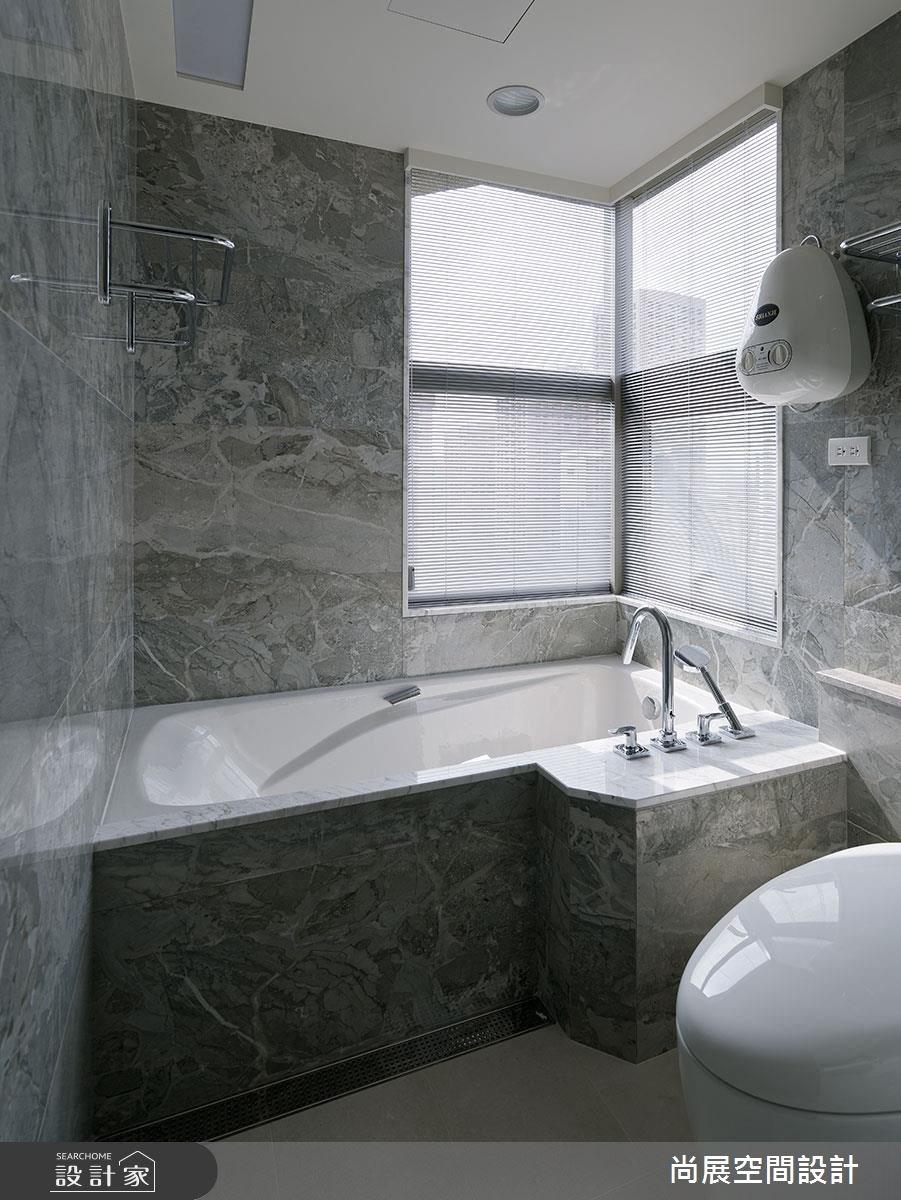 80坪中古屋(5~15年)_現代風浴室案例圖片_尚展空間設計_尚展_78之9