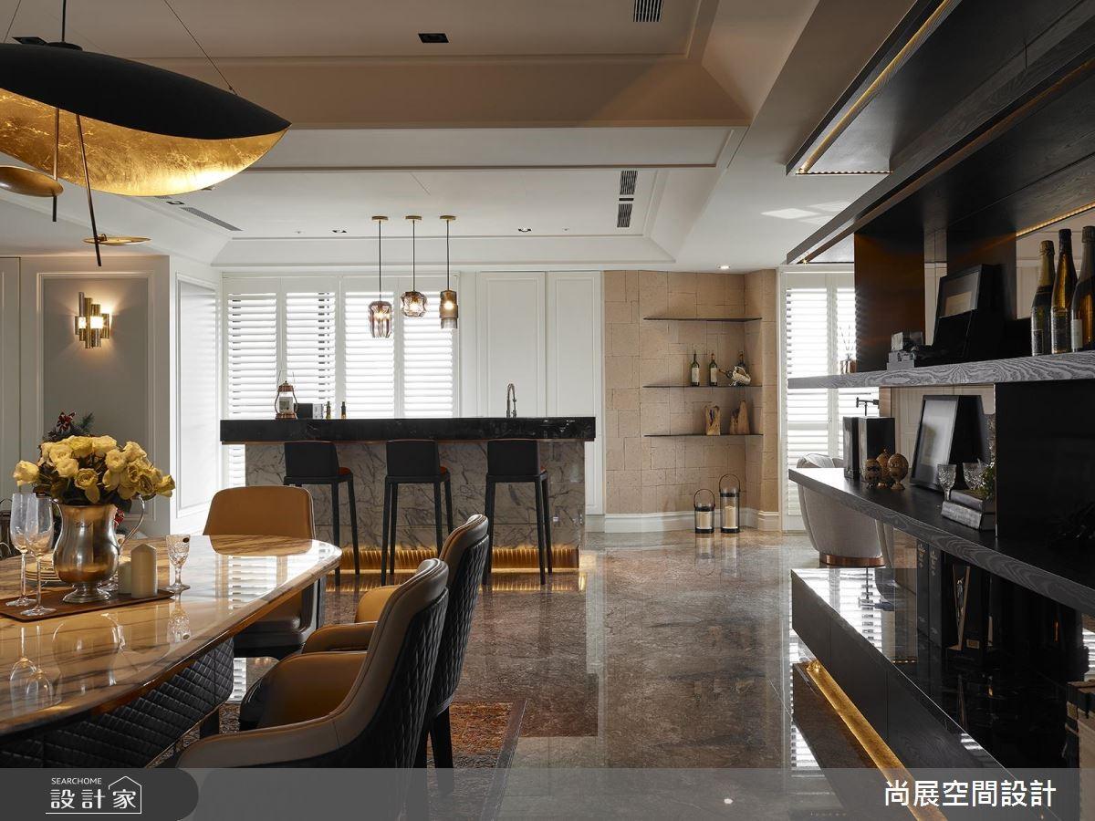 160坪預售屋_現代風餐廳案例圖片_尚展空間設計_尚展_88之8