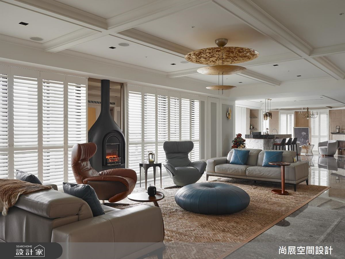 160坪預售屋_現代風客廳案例圖片_尚展空間設計_尚展_88之13