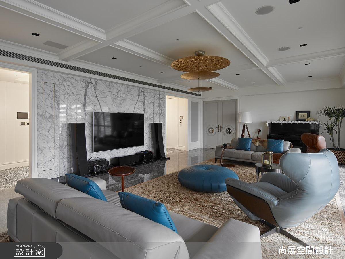 160坪預售屋_現代風客廳案例圖片_尚展空間設計_尚展_88之15