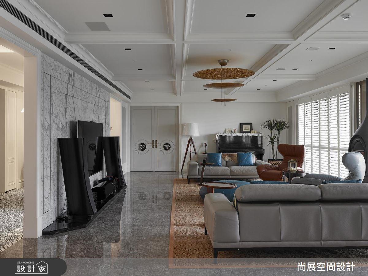 160坪預售屋_現代風客廳案例圖片_尚展空間設計_尚展_88之14