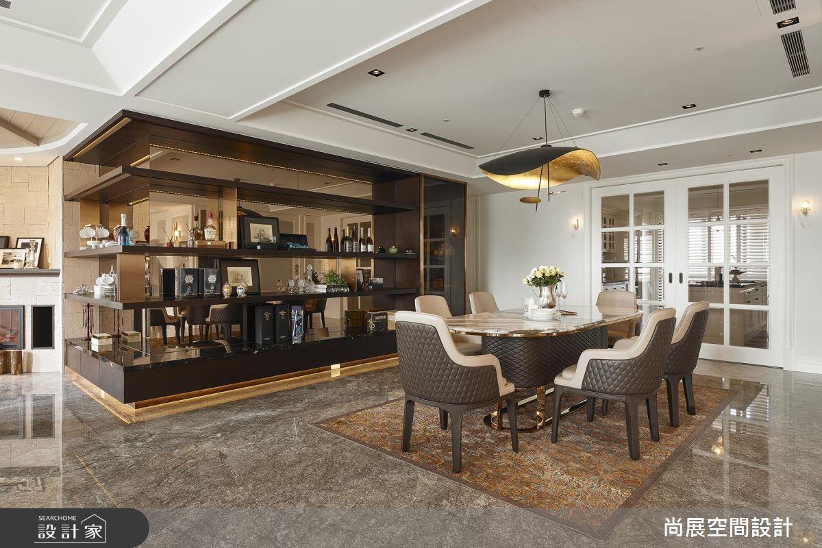 160坪預售屋_現代風餐廳案例圖片_尚展空間設計_尚展_88之5