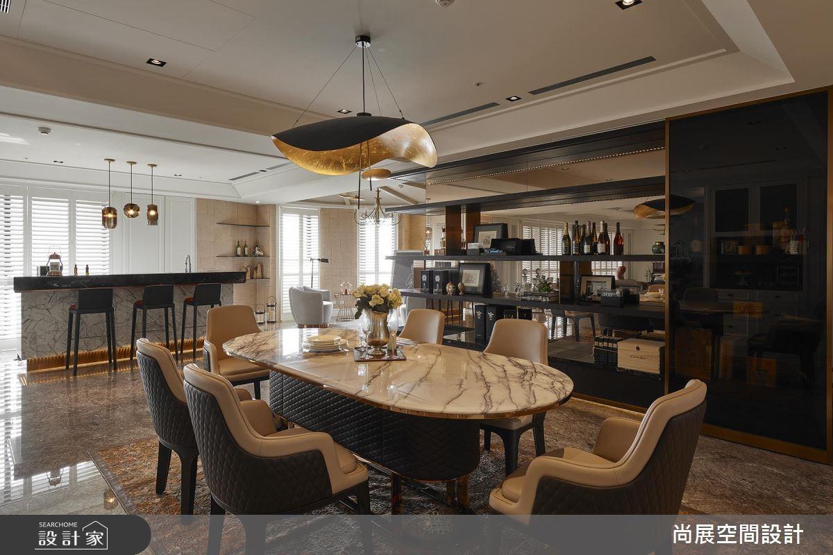 160坪預售屋_現代風餐廳案例圖片_尚展空間設計_尚展_88之7