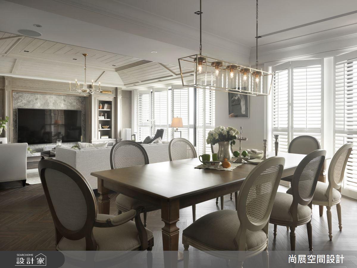 165坪新成屋(5年以下)_美式風餐廳案例圖片_尚展空間設計_尚展_92之5