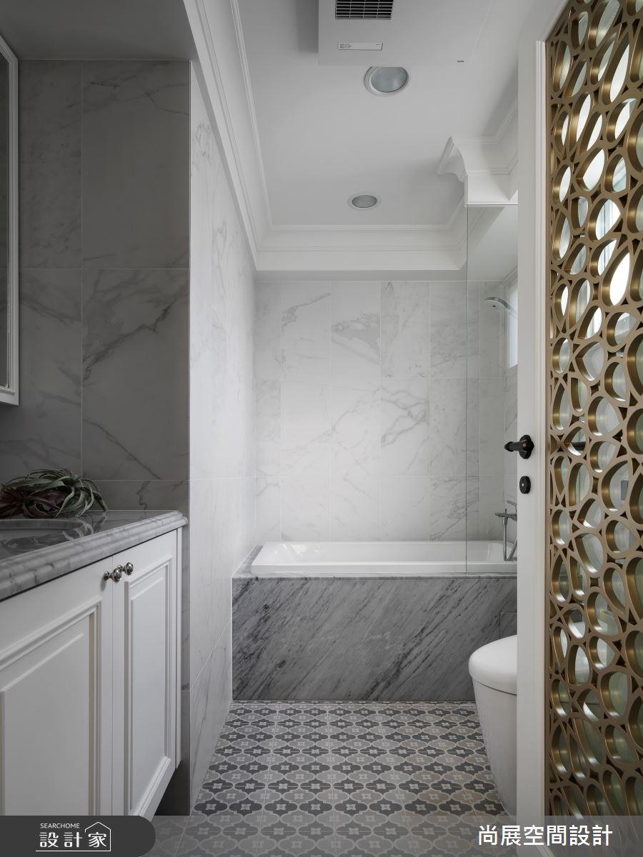 35坪老屋(16~30年)_美式風浴室案例圖片_尚展空間設計_尚展_96之14