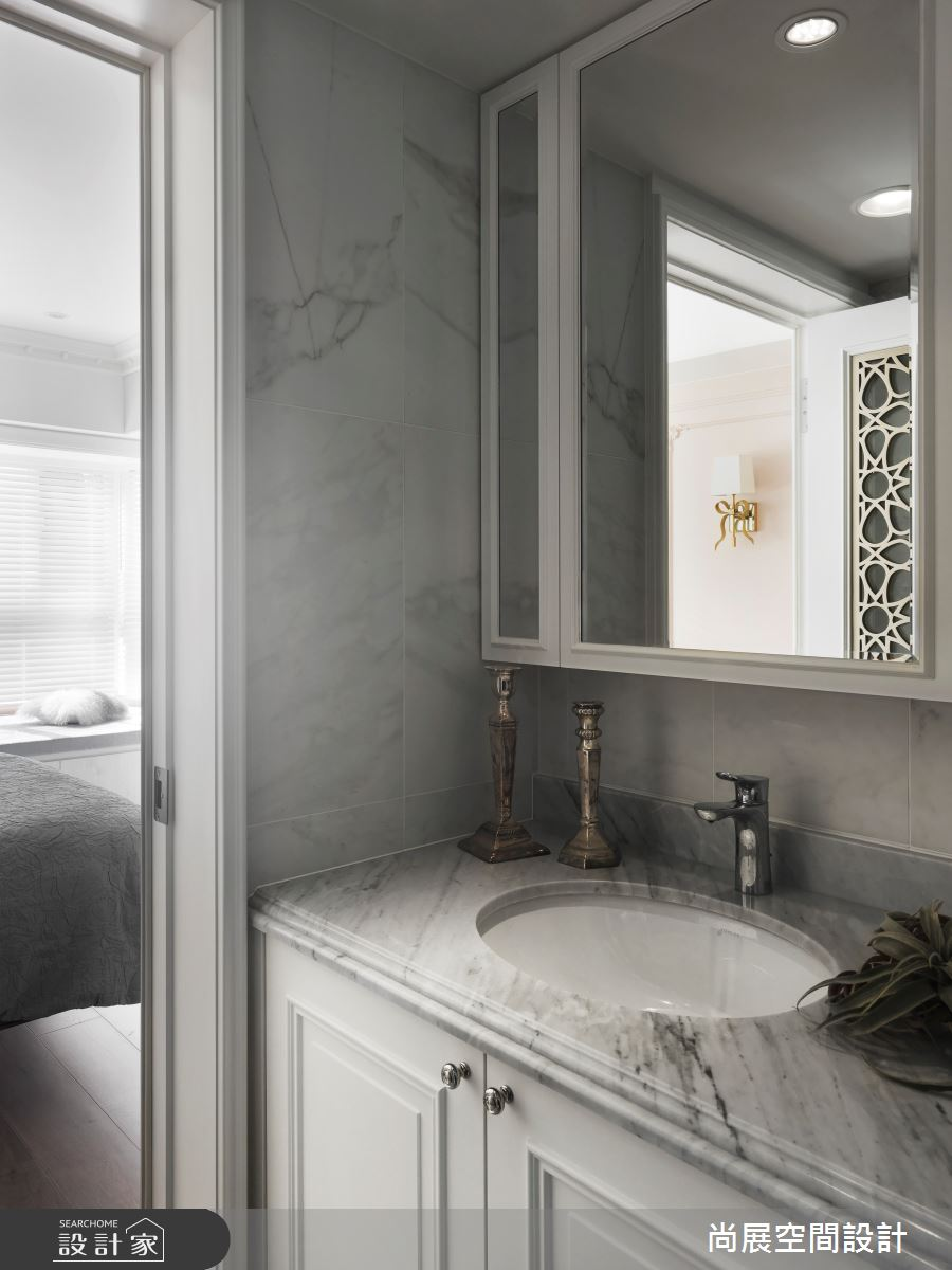 35坪老屋(16~30年)_美式風浴室案例圖片_尚展空間設計_尚展_96之15