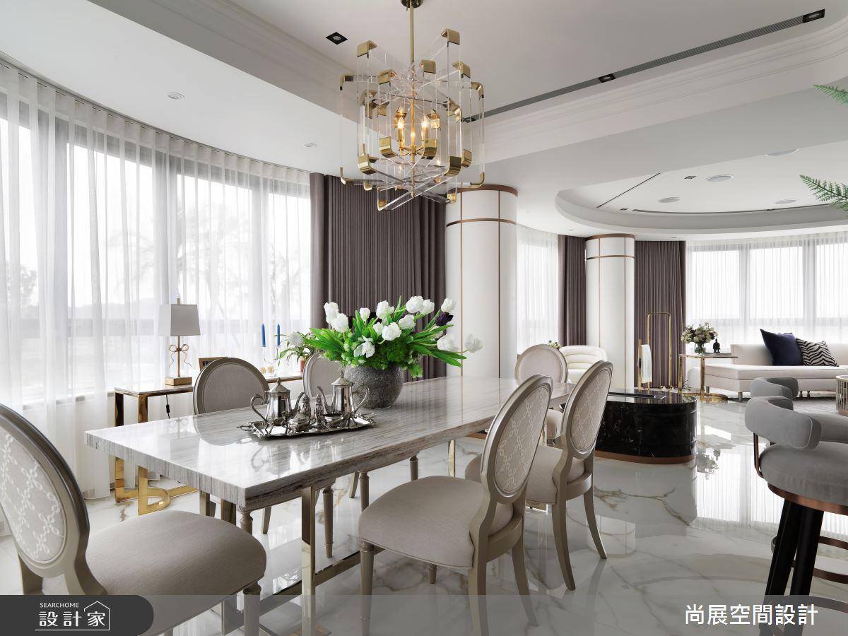 110坪新成屋(5年以下)_新古典餐廳案例圖片_尚展空間設計_尚展_97之4