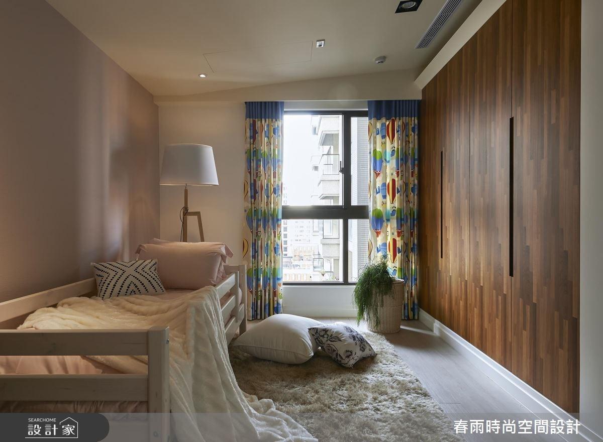 36坪新成屋(5年以下)_休閒風臥室案例圖片_春雨設計_春雨_01之31