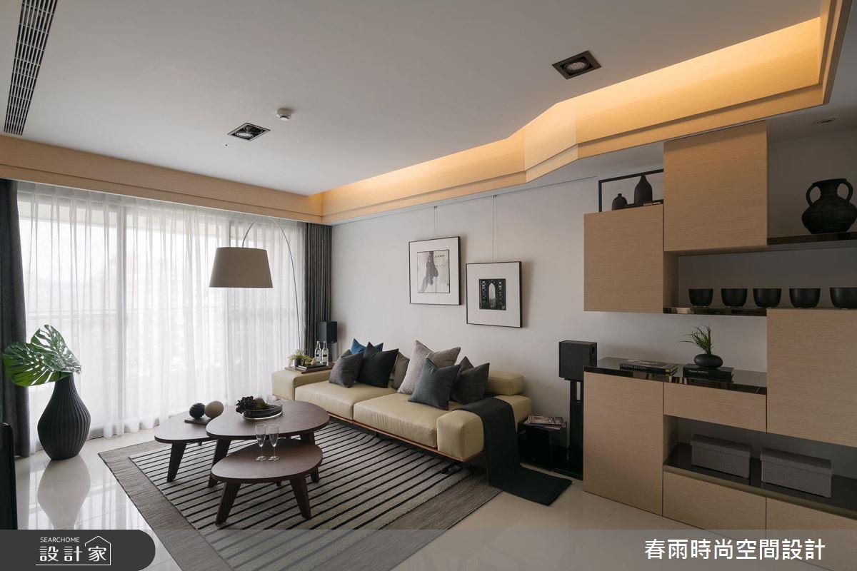 聰明收納 x 現代風格 都會貴族的居宅裝修典範