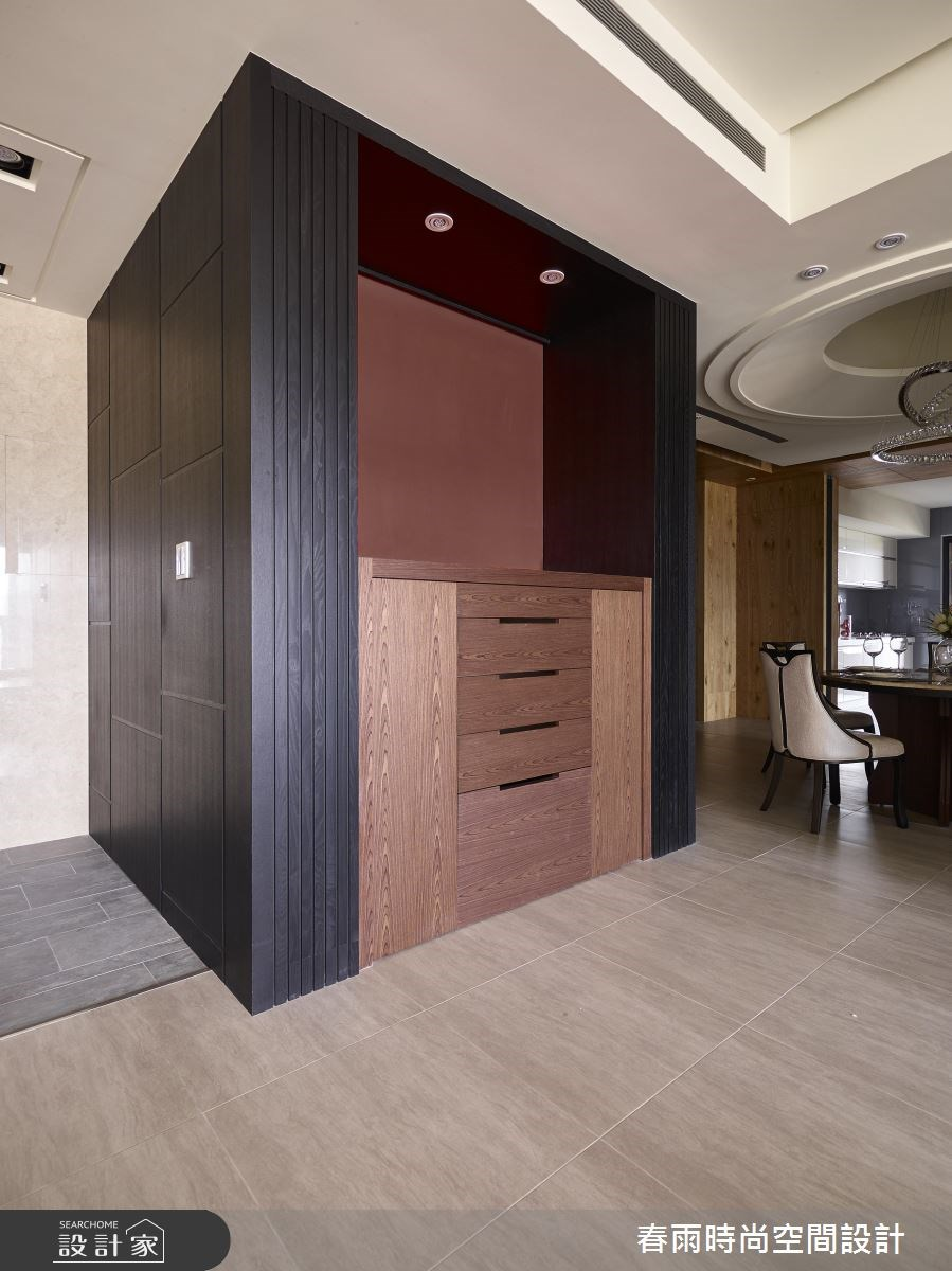 63坪新成屋(5年以下)_現代風玄關餐廳案例圖片_春雨設計_春雨_04之1
