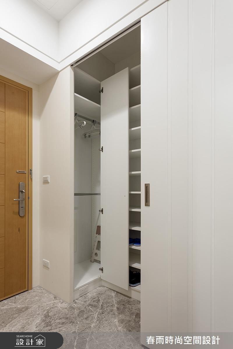 32坪新成屋(5年以下)_混搭風玄關案例圖片_春雨設計_春雨_09之2