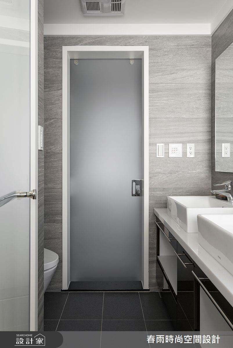 22坪老屋(16~30年)_鄉村風浴室案例圖片_春雨設計_春雨_13之34