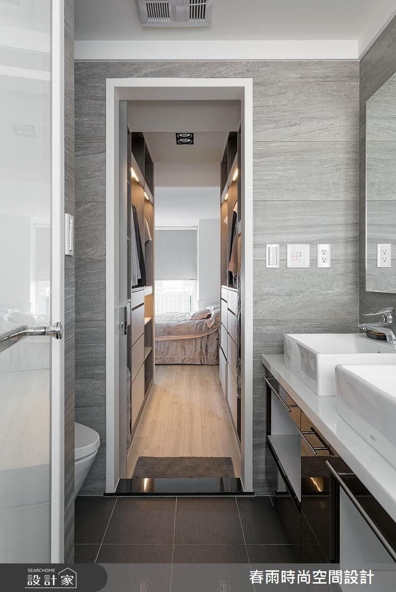 22坪老屋(16~30年)_鄉村風浴室案例圖片_春雨設計_春雨_13之35