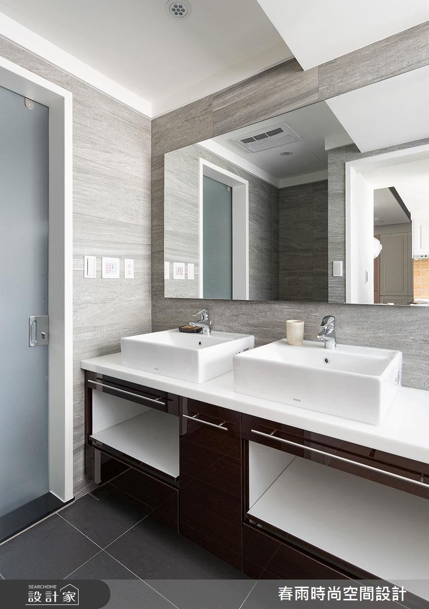 22坪老屋(16~30年)_鄉村風浴室案例圖片_春雨設計_春雨_13之36
