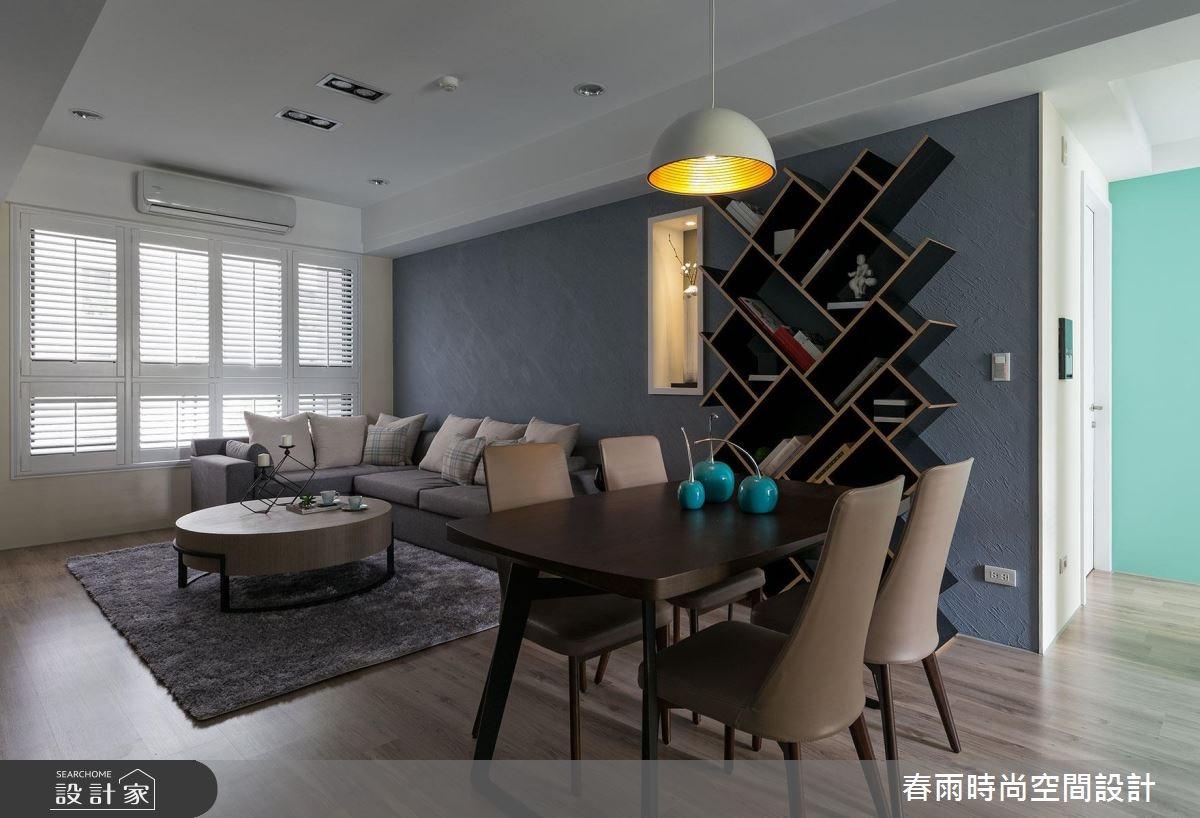 25坪新成屋(5年以下)_現代風餐廳案例圖片_春雨設計_春雨_22之9