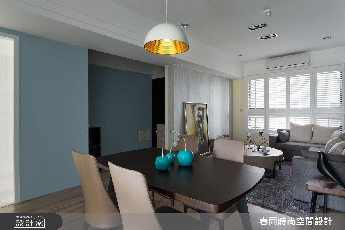 25坪新成屋(5年以下)_現代風餐廳案例圖片_春雨設計_春雨_22之10