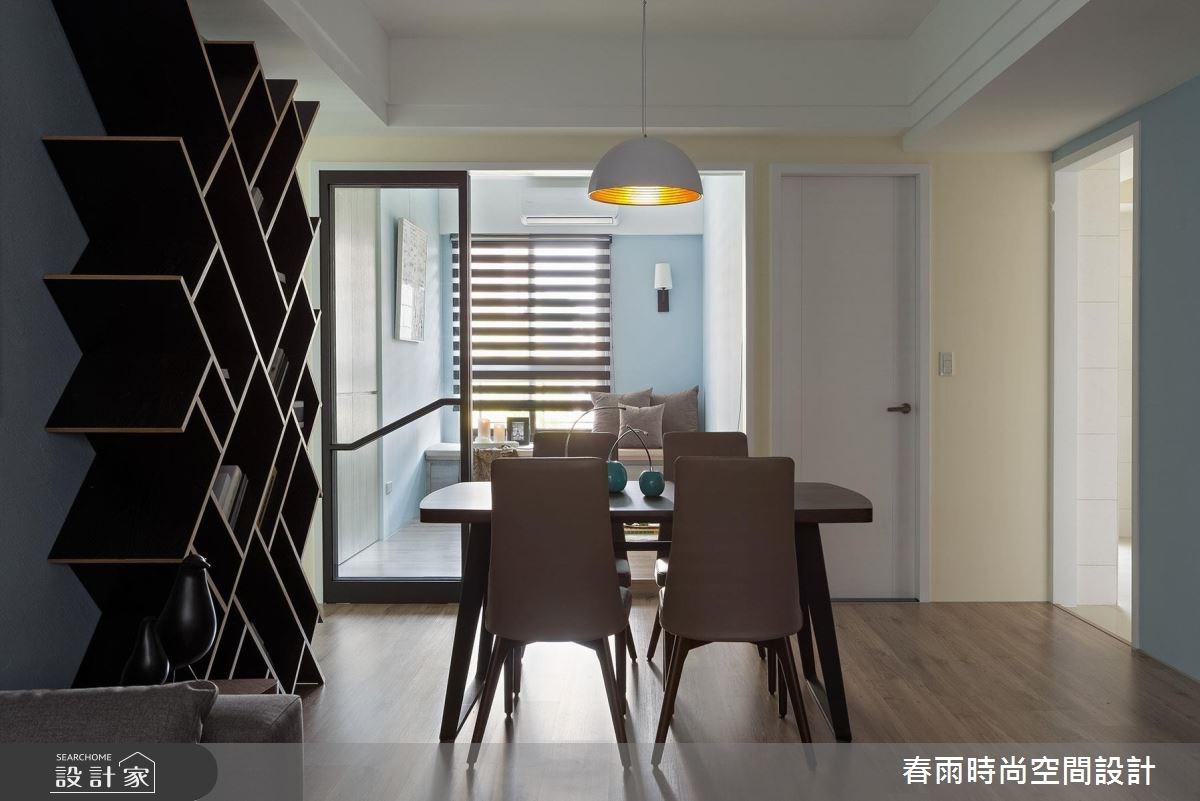 25坪新成屋(5年以下)_現代風餐廳案例圖片_春雨設計_春雨_22之12