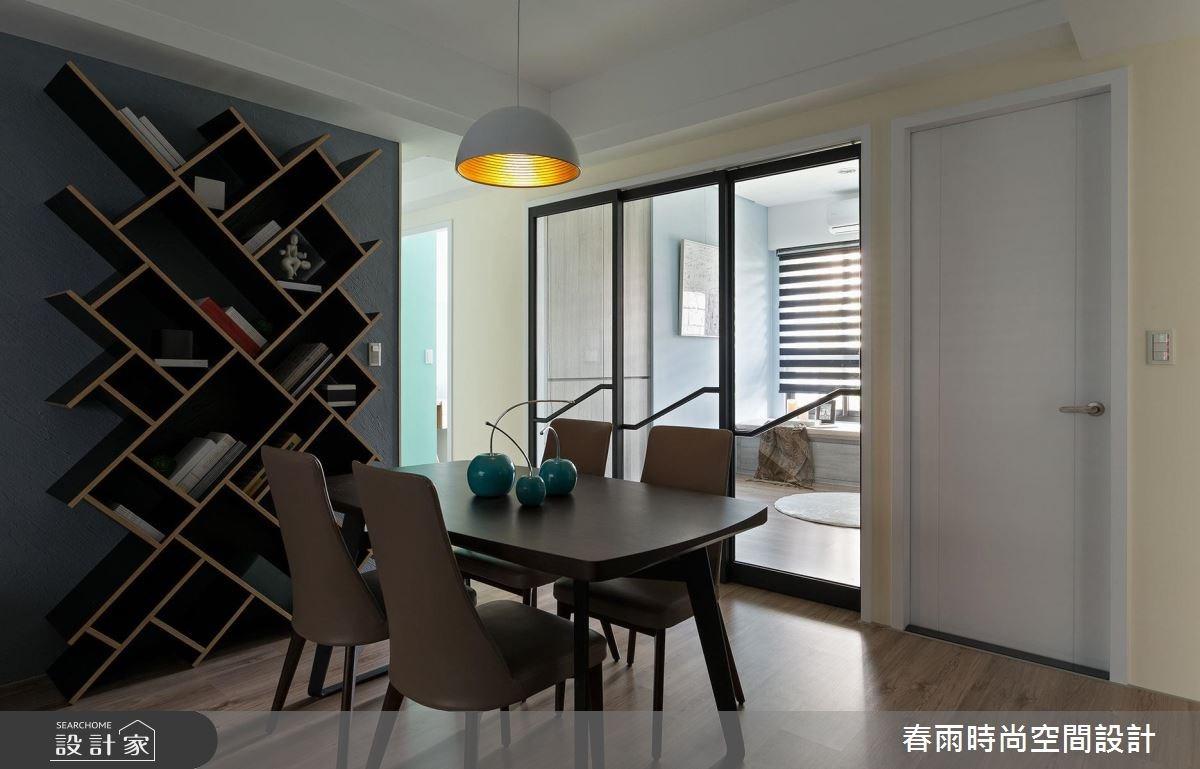 25坪新成屋(5年以下)_現代風餐廳案例圖片_春雨設計_春雨_22之13