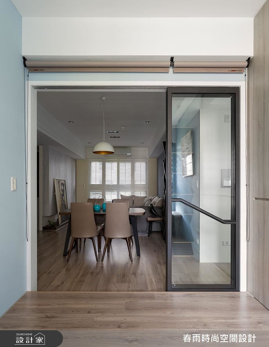 25坪新成屋(5年以下)_現代風餐廳案例圖片_春雨設計_春雨_22之14