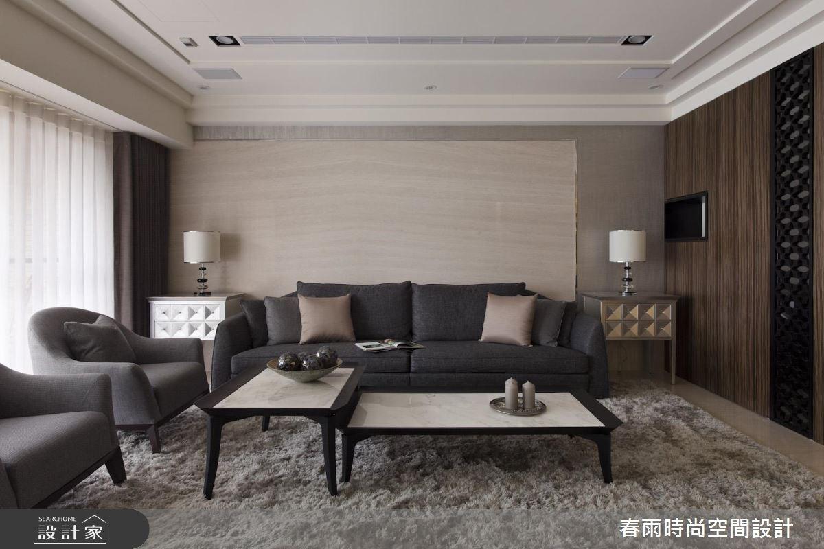 60坪新成屋(5年以下)_現代風客廳案例圖片_春雨設計_春雨_32之5