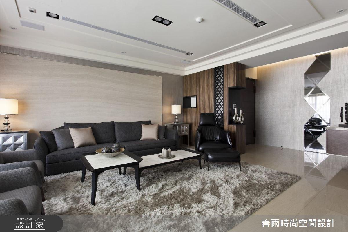 60坪新成屋(5年以下)_現代風客廳案例圖片_春雨設計_春雨_32之6