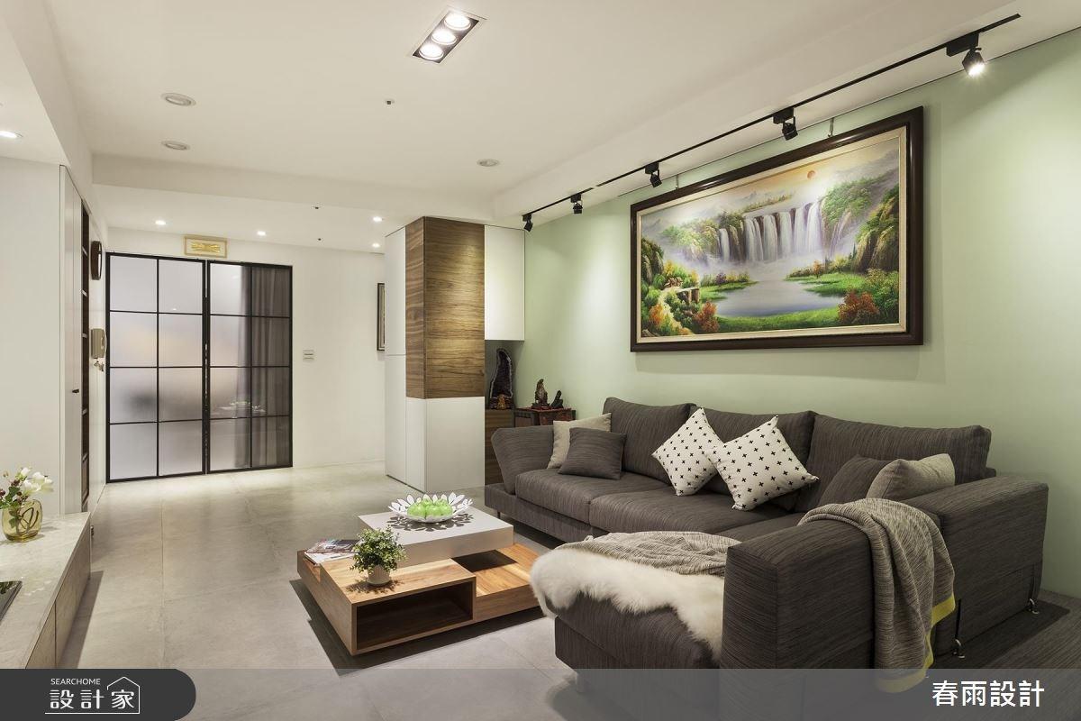 30坪新成屋(5年以下)_現代風客廳案例圖片_春雨設計_春雨_41之3