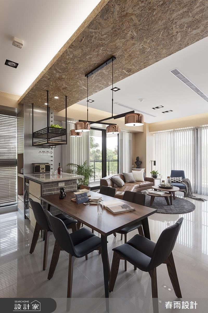 40坪新成屋(5年以下)_混搭風餐廳案例圖片_春雨設計_春雨_47之3