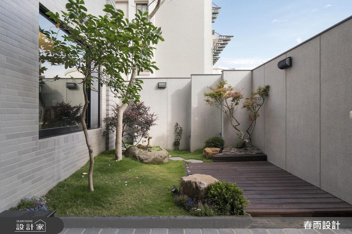 88坪新成屋(5年以下)_混搭風庭院案例圖片_春雨設計_春雨_50之1