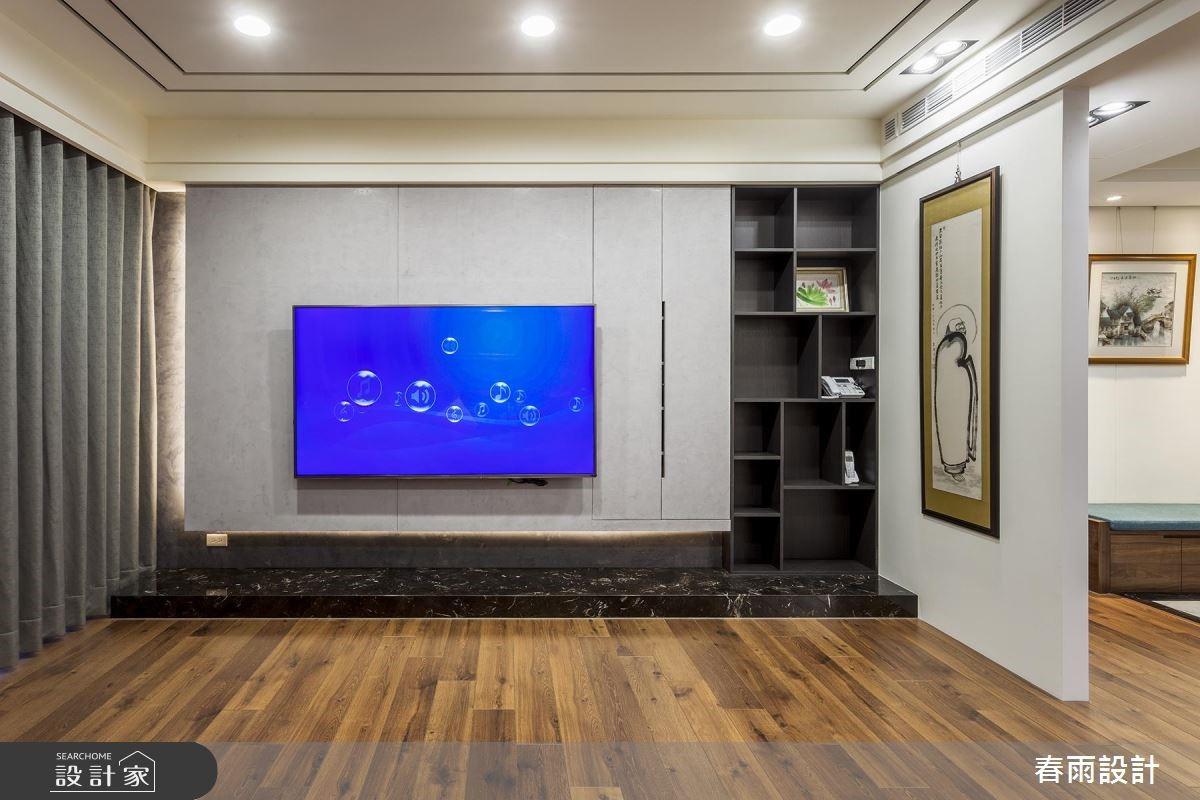 新成屋(5年以下)_混搭風客廳案例圖片_春雨設計_春雨_68之3
