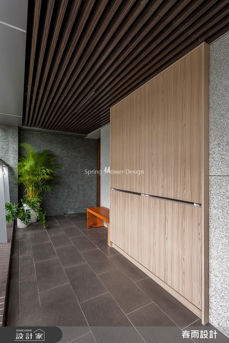 31坪新成屋(5年以下)_混搭風玄關案例圖片_春雨設計_春雨_72之1