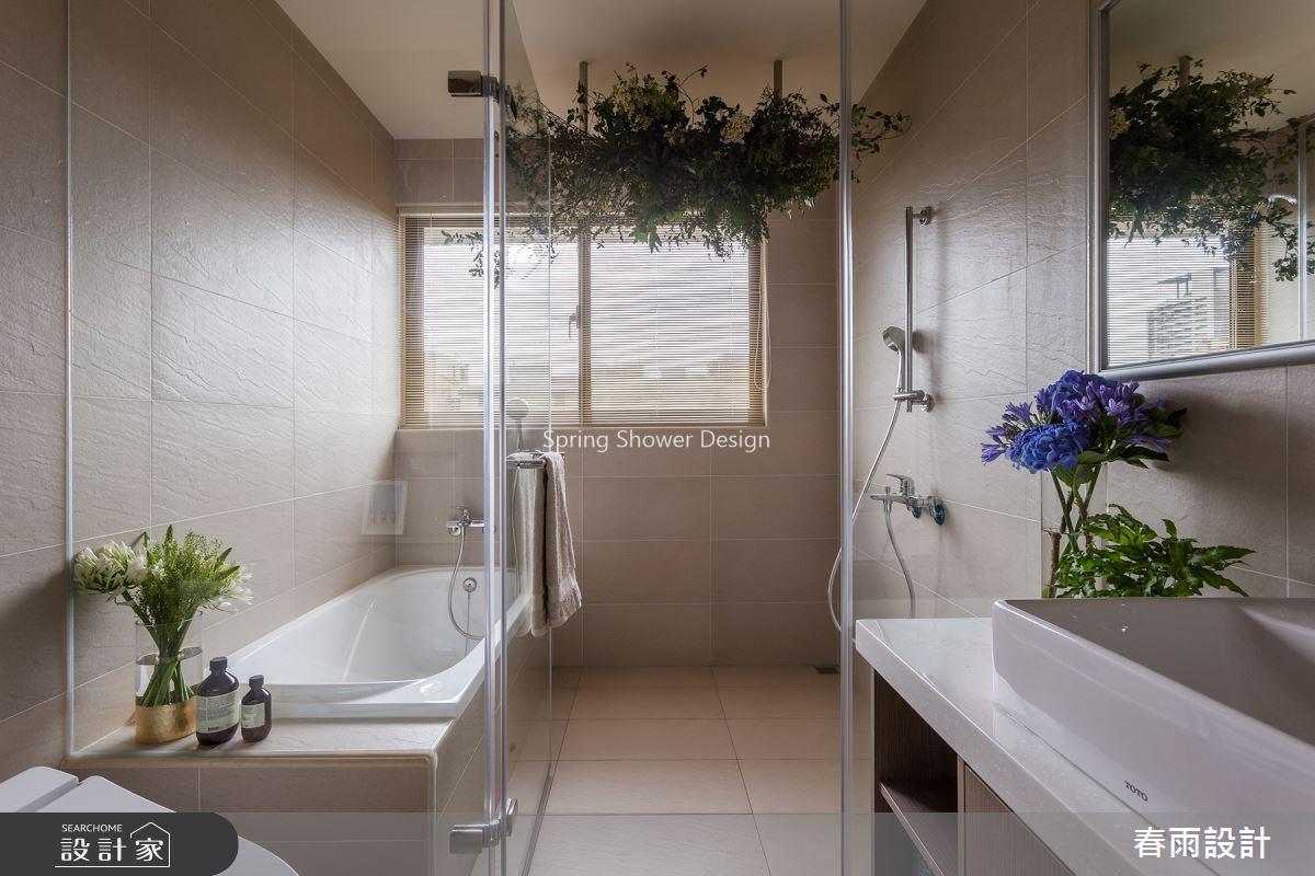 23坪新成屋(5年以下)_混搭風浴室案例圖片_春雨設計_春雨_77之21